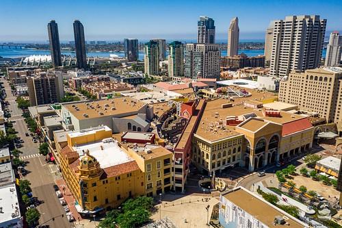 Downtown San Diego Horton Plaza