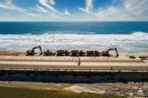 Torrey Pines Beach Heavy Equipment