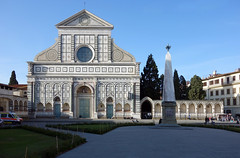 Exterior façade, Santa Maria Novella