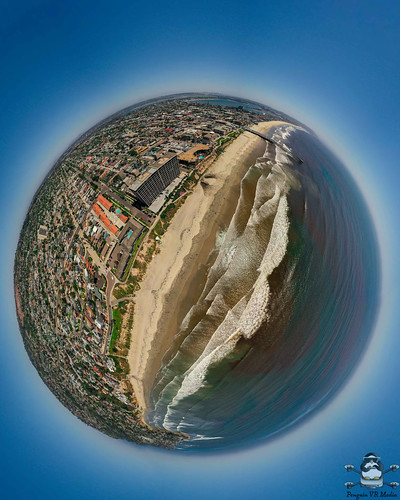 Pacific Beach Tiny Planet