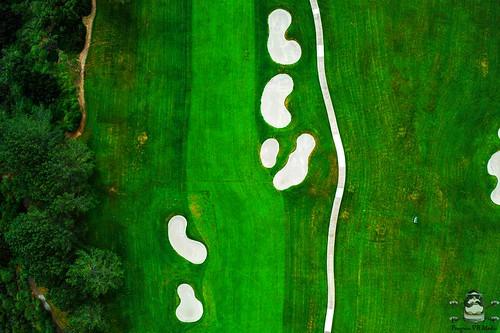 Birdseye over Torrey Pines Golf Course