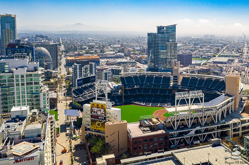 Petco Park East Village View