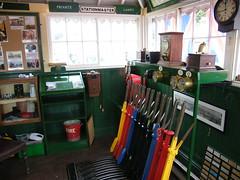 Photo of Bideford Signal Box.