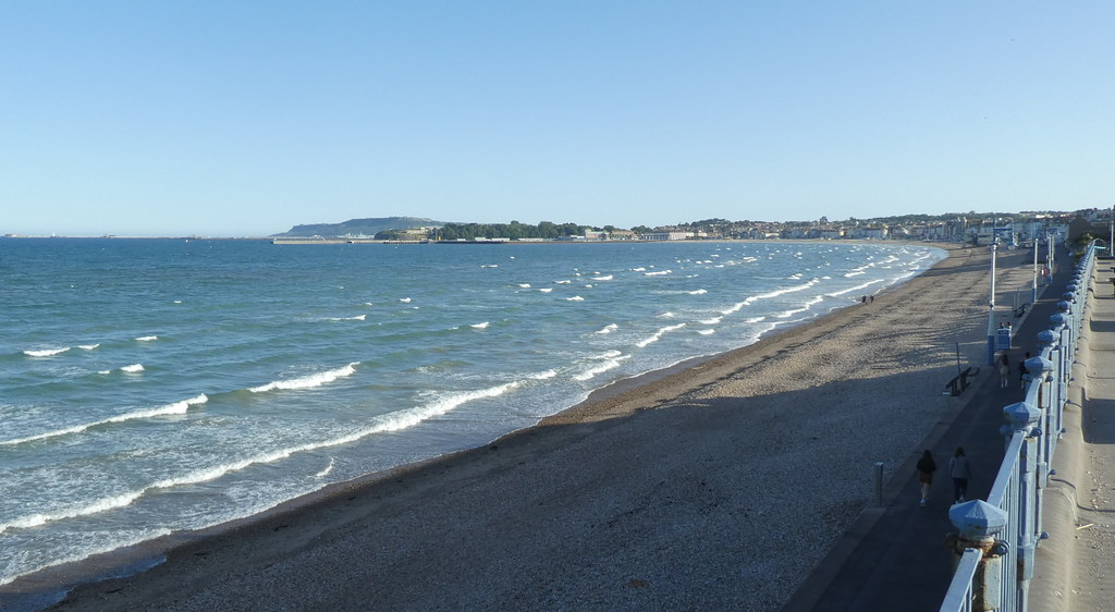 Weymouth Beach from Greenhill