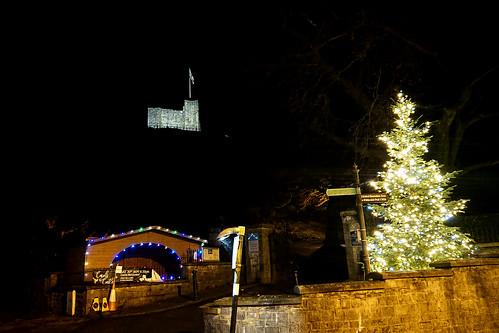 Clitheroe Castle christmas