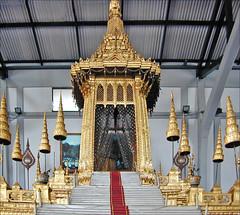Maquette du crématorium du roi Rama VI, musée national (Bangkok, Thaïlande)