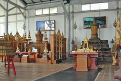 Rites funéraires royaux, musée national (Bangkok, Thaïlande)