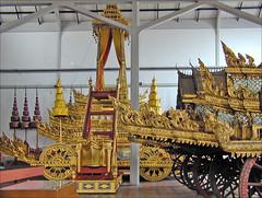 Chariots funéraires royaux, musée national (Bangkok, Thaïlande)