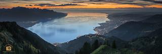 Lac Leman @ Rochers de Naye, Switzerland