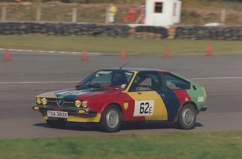 Colourful Alfasud Sprint