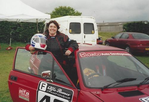 Rebecca Draper Alfasud Sprint