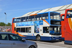 Photo of Stagecoach - 18141 PX04DNF - TransBus Trident 10.5m - TransBus ALX400