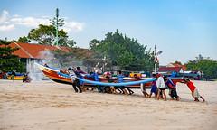 Fishermen in Bali