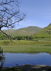 Photo of Gray Crag across the Goldrill