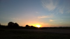 Photo of Sunset Witney Oxfordshire UK.