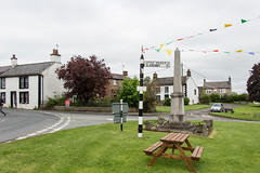 Photo of War Memorial, Langwathby, England