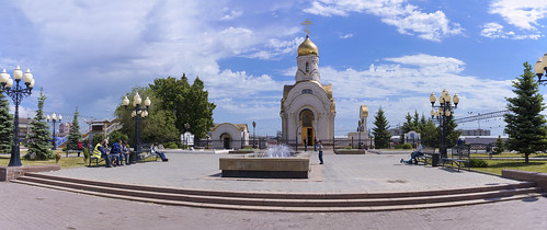 South Ural. Sights of Chelyabinsk: Temple in honor of the Smolensk Icon of the Mother of God