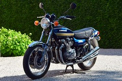 It's motorbike weather ! Kawasaki Z1B 900 in concours condition.