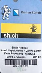 """Eintrittskarte Rheinfall • <a style=""""font-size:0.8em;"""" href=""""http://www.flickr.com/photos/79906204@N00/49956034328/"""" target=""""_blank"""">View on Flickr</a>"""