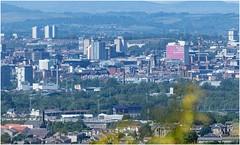 Photo of Glasgow Through a Shimmering Heat Haze