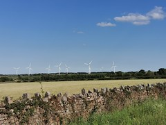 Photo of Windmills over the Wall