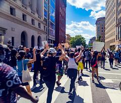 2020.05.31 Protesting the Murder of George Floyd, Washington, DC USA 152 35024