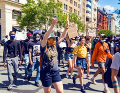 2020.05.31 Protesting the Murder of George Floyd, Washington, DC USA 152 35030