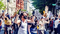 2020.05.31 Protesting the Murder of George Floyd, Washington, DC USA 152 35028
