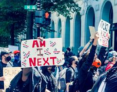 2020.05.31 Protesting the Murder of George Floyd, Washington, DC USA 152 35031