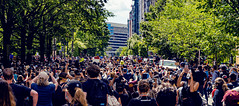 2020.05.31 Protesting the Murder of George Floyd, Washington, DC USA 152 35039