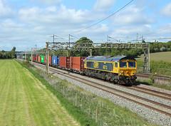 Photo of 66712, Cotes Heath, 19 May 2020
