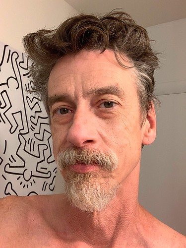 My son-in-law's barbershop opens tomorrow. I'm booked for a haircut. I've always worn my hair close cropped, but I've discovered during quarantine it looks good long. I feel sexy. Just a trim I think.