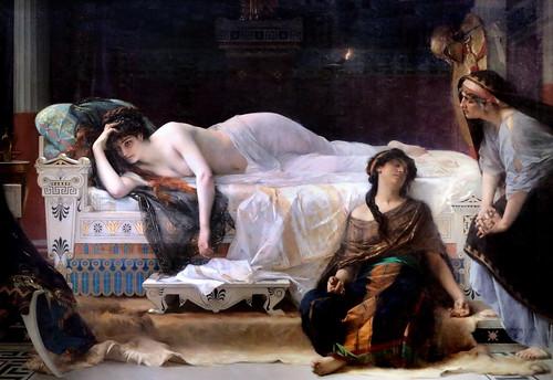 IMG_7542R Alexandre Cabanel. 1823-1889. Paris.  Phèdre 1880.  Montpellier Musée Fabre. Exposition temporaire à Paris Orsay.