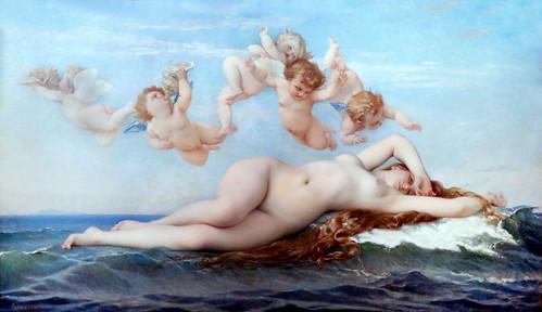 IMG_7516F Alexandre Cabanel. 1823-1869. Paris. La Naissance de Vénus. The birth of Venus. 1863. Paris Orsay.