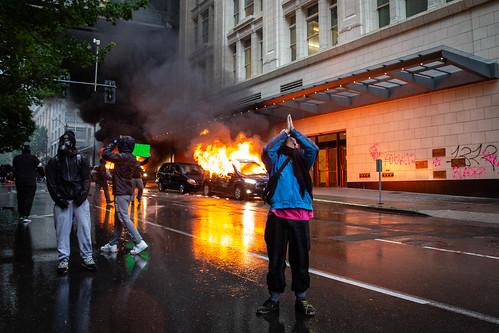 Black Lives Matter Protest, Seattle WA by Kelly Kline, on Flickr