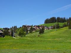 Ski resort @ Col de Merdassier @ Manigod
