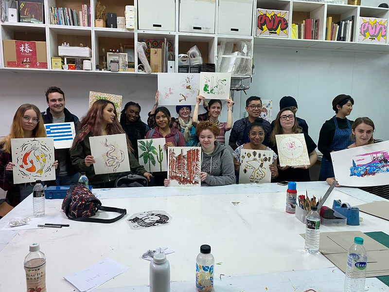 Visual Arts Study Tours School Of Arts Humanities Stockton University