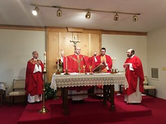 Mass at Carmel with Newly Ordained