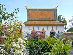 Keong Preah Bath (Pagode d'argent, Phnom Penh, Cambodge)