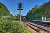 Taffs Well Railway Station - Looking SW down to Radyr