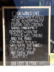 Photo of Message in a window_COVID-19 pandemic_20200525_154508