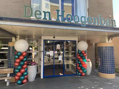 Ballonpilaar Breed Rond Laurens Woonzorglocatie Den Hoogenban Rotterdam