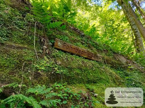 Fohnbachfelsen - Felsenwanderweg um Rodalben im Pfälzer Wald