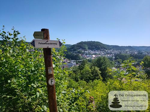 Am Bruderfelsen - Felsenwanderweg um Rodalben im Pfälzer Wald