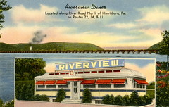 Riverview Diner, Route 22, Harrisburg, Pa.