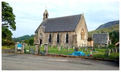 Photo of Strathblane Parish Church.