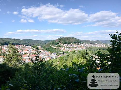 Hilschberghaus über Rodalben - Felsenwanderweg um Rodalben im Pfälzer Wald