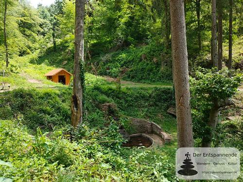 Teufelshütte und Brunnen - Felsenwanderweg um Rodalben im Pfälzer Wald