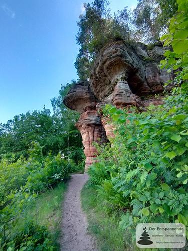 Bruderfelsen - Felsenwanderweg um Rodalben im Pfälzer Wald