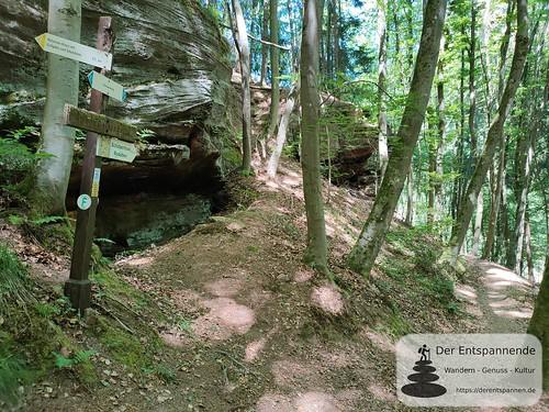 An der Geisendelle - Felsenwanderweg um Rodalben im Pfälzer Wald